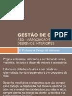 Design de Interiores gestão de Custos