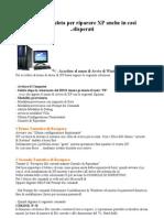 Guida Completa Per Riparare XP