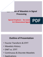 Application of Wavelets in Signal Processing 1