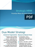 MME Strategic Roles of HRM 2010