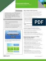 VMware vSphere 4 Essentials Editions DS En