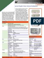 RCVS1000 Multiple Channels Datasheet