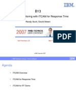 Application Monitoring With ITCAM for Response Time