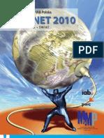 Raport Strategiczny IAB Polska INTERNET 2010