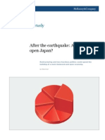 Japan's Growth & Impact after Earthquake