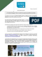 0614 CP Fondation Bouygues Telecom Soutient Les Projets Associatifs Des Clients