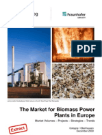 Studie Biomass Power Plants Europe