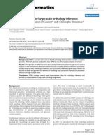 Algorithm of OMA for Large-scale Orthology Inference