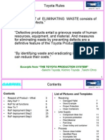 Respect for Poduct - Guidelines Manual