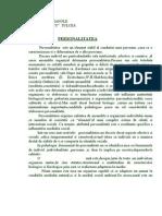 OLIMPIADA PSIHOLOGIE PERSONALITATE