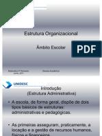 Estrutura Organizacional de Uma Escola
