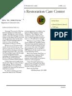 CRCC Newsletter Jun 2011