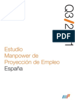 Estudio Manpower de Proyección de Empleo 3Q/11