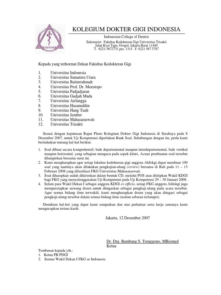 Contoh Soal Tes Masuk Universitas Trisakti
