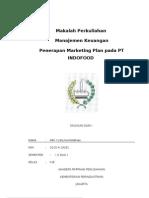 Makalah Marketing Plan