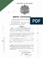 BE 387612 - Lakhovsky 1931 - Appareil Destine a La Creation de Champs Electriques de Haute Frequence a Longuers d'Ondes Multiples