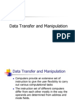 Data Transfer and Manipulation