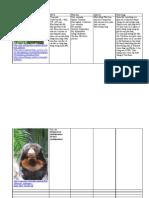 báo cáo động vật
