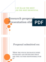 Research proposal slides