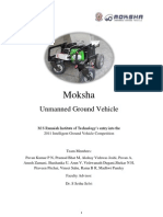 Moksha - Unmanned Ground Vehicle