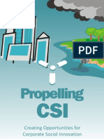 Rosenthal - 2009 - Propelling CSI Creating Opportunities for Corporate Social Innovation