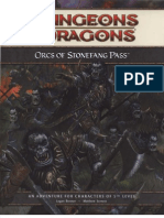 Lvl 5 Orcs of Stonefang Pass
