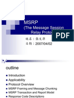 MSRP protocol ppt presentation