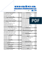 Lista Precios Inforcomp