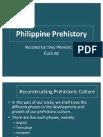 Reconstructing Prehistoric Culture