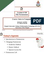 Lecture 11 (File Per Missions)