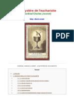 46308854 Le Mystere de l Eucharistie Cardinal Journet