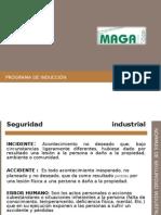 Programa de inducción seguridad MAGA