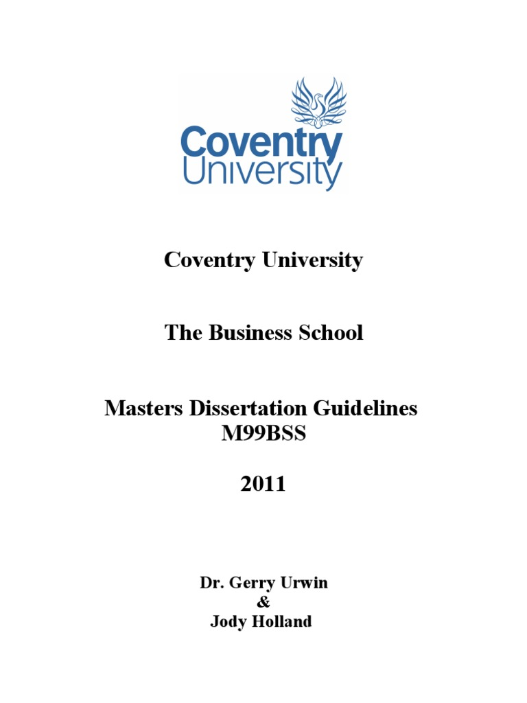 Dissertation thesis 2011