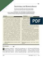 Microbiologia - Artigo - Incidência Bacteriana em Hemoculturas
