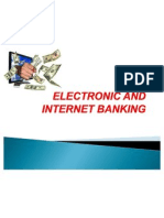 Electronic and Internet Banking