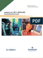 Liebert GXT RT - 50Hz - Brochure
