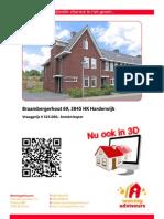 3D Brochure Braambergerhout 69 Te Harderwijk
