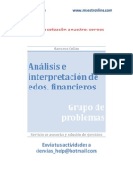 Analisis e Interpretacion de Estados Financieros NUEVO