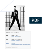 Elvis Presley: Cafe Europa Sessions (5Cds): View Full Version