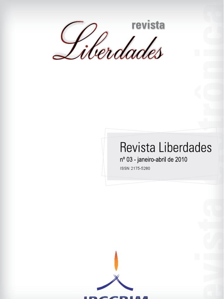 Revista Liberdade n. 03 - IBCCRIM - Artigos f5de06a720e98