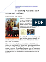2009 16 Months and Counting - Australias Racist Intervention Continues