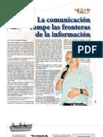 La comunicación rompe las fronteras de la información - Entrevista con Alfonso Gumucio