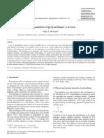 Bio Degradation of Polyurethane a Review