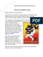 2009 Where Tires Grow on Stolen Land