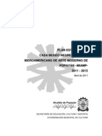 Plan Estratégico 2011 - 2015 Casa Museo Negret & MIAMP