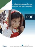 Niños y niñas sin papeles en Europa