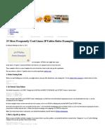 iptables-25masfrecuentesreglas