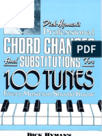 Dick Hyman's Professional Chord Changes and Substitutions