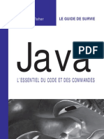 Java LEssentiel Du Code Et Des Commandes 9782744040047