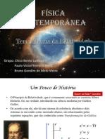 Apresentação 01 - Teoria da Relatividade Geral (com Divisão de Falas)